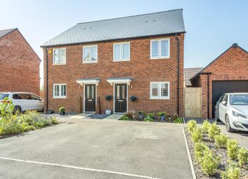 Thumbnail 3 bed semi-detached house for sale in Bayliss Drive, Upper Heyford