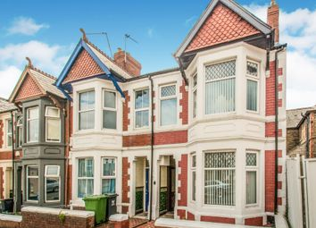 Thumbnail 3 bedroom end terrace house for sale in Brithdir Street, Cathays, Cardiff