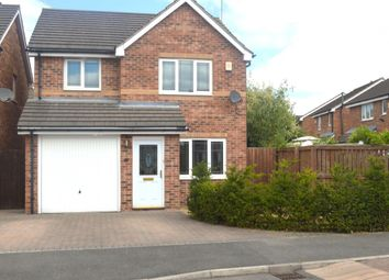 Thumbnail 3 bed detached house for sale in Whitwell Drive, Streethouse, Pontefract