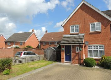Thumbnail 3 bed end terrace house to rent in Keats Close, Downham Market