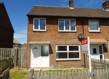 Thumbnail 2 bed semi-detached house to rent in Fellgate Avenue, Fellgate, Jarrow.