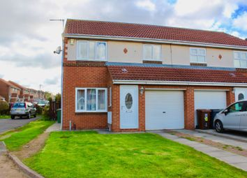 Thumbnail 3 bed semi-detached house for sale in Redstart Close, Hartlepool