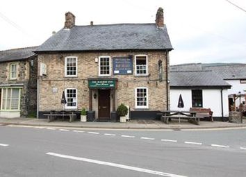 Thumbnail Restaurant/cafe for sale in The Railway Inn, Station Road, Pen-Y-Bont-Fawr, Oswestry