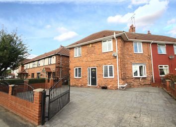 Thumbnail 3 bed semi-detached house for sale in Harewood Lane, Upton, Pontefract, West Yorkshire