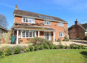 Thumbnail 4 bed detached house for sale in Bramdean, Alresford