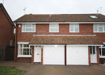 Thumbnail 3 bedroom semi-detached house to rent in Tisdale Rise, Kenilworth, Warwickshire