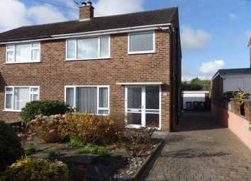 Thumbnail 3 bedroom semi-detached house to rent in Milton Crescent, Wirral