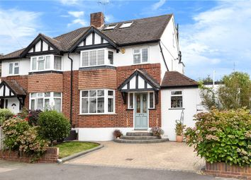 Thumbnail 4 bed semi-detached house for sale in Pine Gardens, Ruislip, Middlesex
