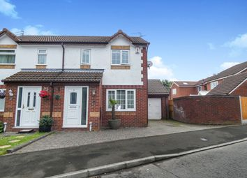 Thumbnail 3 bed semi-detached house for sale in Betony Close, Halewood, Liverpool