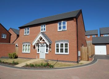 Thumbnail 4 bed detached house for sale in Sharpe Way, Sileby, Loughborough