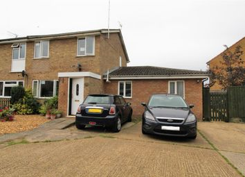 Thumbnail 4 bed semi-detached house for sale in Carey Way, Olney