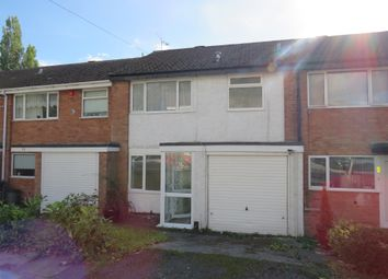 Thumbnail 3 bedroom terraced house for sale in Longham Croft, Harborne, Birmingham