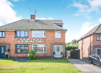 Thumbnail 4 bed semi-detached house for sale in Moorland View Road, Chesterfield, Derbyshire