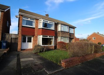 Thumbnail 3 bed semi-detached house for sale in Redesdale Avenue, Newcastle Upon Tyne