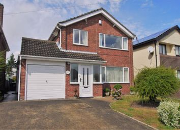 Thumbnail 3 bed detached house for sale in Enderby Crescent, Gainsborough