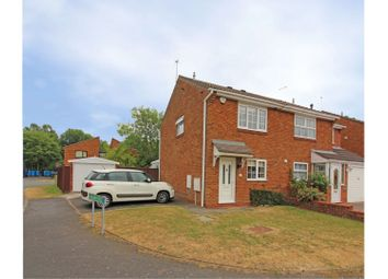 Thumbnail 2 bed semi-detached house for sale in Melrose Drive, Perton, Wolverhampton