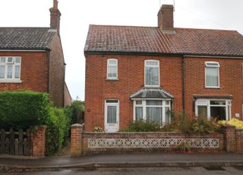 Thumbnail 3 bed semi-detached house for sale in 30 Bradfield Road, North Walsham, Norfolk