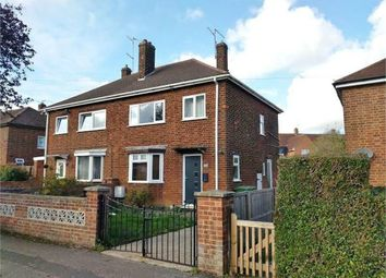 Thumbnail 3 bed semi-detached house to rent in West Glebe Road, Corby, Northamptonshire