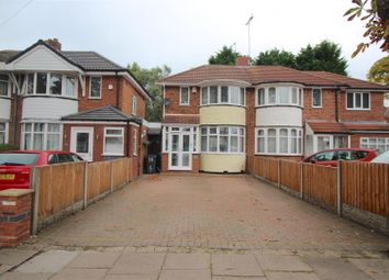 Thumbnail 2 bed semi-detached house for sale in Gilbertstone Avenue, Yardley, Birmingham