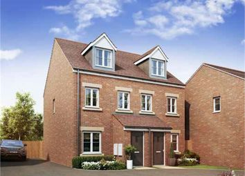 Thumbnail 3 bed semi-detached house for sale in Theedway, Leighton Buzzard, Bedfordshire