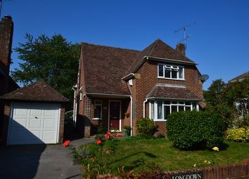 Thumbnail 3 bed detached house for sale in Longmead, Church Crookham, Fleet