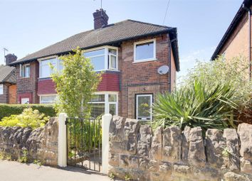 Thumbnail 3 bed semi-detached house for sale in Salcombe Road, Basford, Nottinghamshire