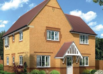 "Thumbnail 4 bedroom detached house for sale in ""Lincoln"" at Bearscroft Lane, London Road, Godmanchester, Huntingdon"