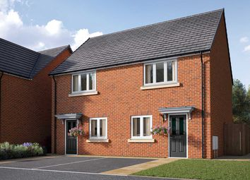 "Thumbnail 2 bedroom semi-detached house for sale in ""The Harcourt"" at Cobblers Lane, Pontefract"
