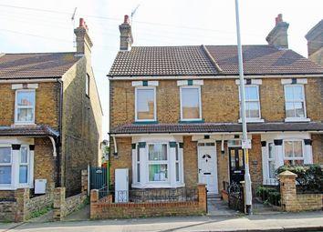 Thumbnail 2 bedroom maisonette for sale in Park Road, Sittingbourne, Kent