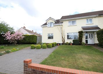 Thumbnail 4 bedroom end terrace house for sale in Kirby Rise, Claydon, Ipswich, Suffolk