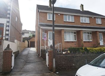 Thumbnail 3 bedroom semi-detached house for sale in Pwll Street, Landore