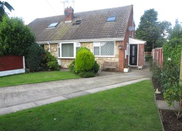 Thumbnail 3 bed semi-detached bungalow for sale in Tithe Barnway, Kellington, Goole