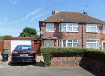 Thumbnail 3 bed semi-detached house to rent in Calverton Avenue, Wigston
