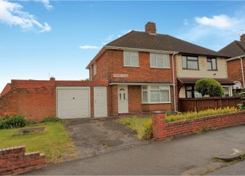Thumbnail 3 bedroom semi-detached house for sale in Dresden Close, Wolverhampton