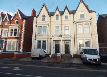 Thumbnail 1 bed flat to rent in Bath Street, Rhyl, Clwyd
