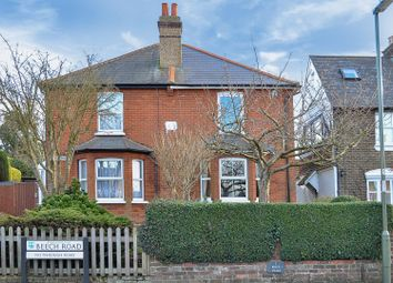 Thumbnail 3 bed semi-detached house for sale in Beech Road, Epsom