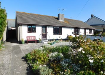 Thumbnail 2 bed semi-detached bungalow for sale in Trekieve Meadow, Off Guildford Road, Hayle
