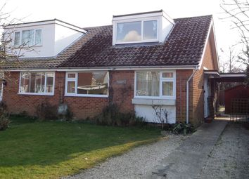 Thumbnail 3 bed semi-detached bungalow to rent in St Leodegars Way, Hunston, Chichester