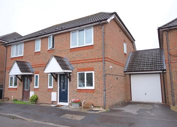 Thumbnail 3 bed semi-detached house for sale in Brookview Close, Fareham