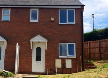 Thumbnail 2 bed end terrace house to rent in Maid Marion Rise, Warsop, Mansfield, Nottinghamshire