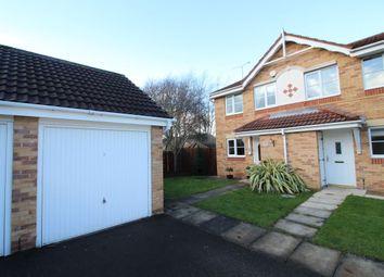 Thumbnail 2 bed semi-detached house for sale in Oakmont Close, Normanton