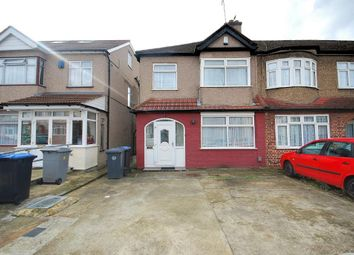 Thumbnail 4 bed end terrace house to rent in Burnside Crescent, Wembley, Middlesex