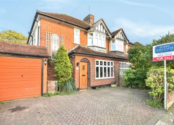 Thumbnail 3 bed semi-detached house for sale in Hamilton Road, Uxbridge, Middlesex