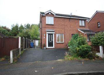 Thumbnail 2 bed semi-detached house to rent in Pendlecroft Avenue, Pendlebury, Swinton, Manchester