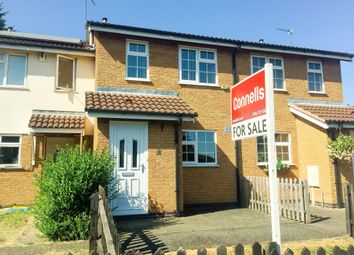Thumbnail 2 bed town house for sale in Broughtons Field, Wigston