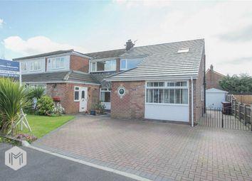 Thumbnail 3 bedroom semi-detached house for sale in Duxbury Avenue, Little Lever, Bolton, Lancashire