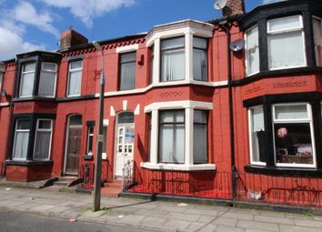 Thumbnail 3 bed terraced house to rent in Ashbourne Road, Aigburth