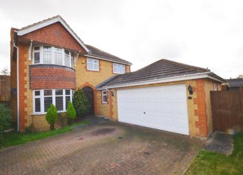Thumbnail 4 bed detached house to rent in Wiltshire Way, Milton Keynes