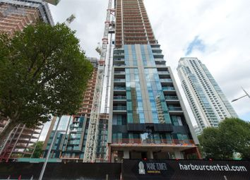 Thumbnail 1 bed flat for sale in Maine Tower, Harbour Central, Canary Wharf