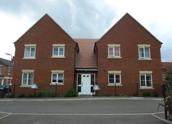 Thumbnail 2 bed flat to rent in Blossom Court, Wood Street, Kettering